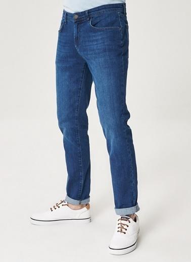 Altınyıldız Classics Ekstra Slim Fit Dar Kesim Denim Esnek Jean Kot Pantolon 4A0121100085 İndigo